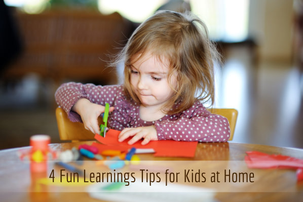 4 Fun Learnings Tips for Kids at Home